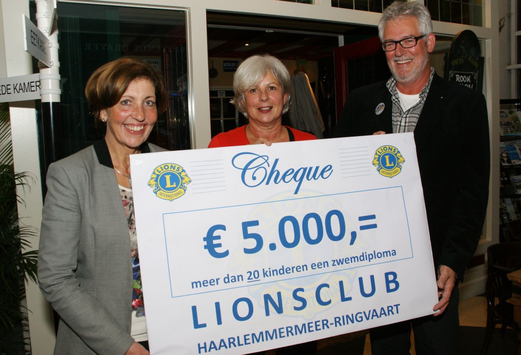 Lions Meerkamp 2014 opbrengst voor St Leergeld